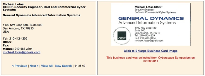 Cardbrowser sales training central we display the actual business card image which you can click to enlarge business cards will often have professional credentials ie dr md phd esq reheart
